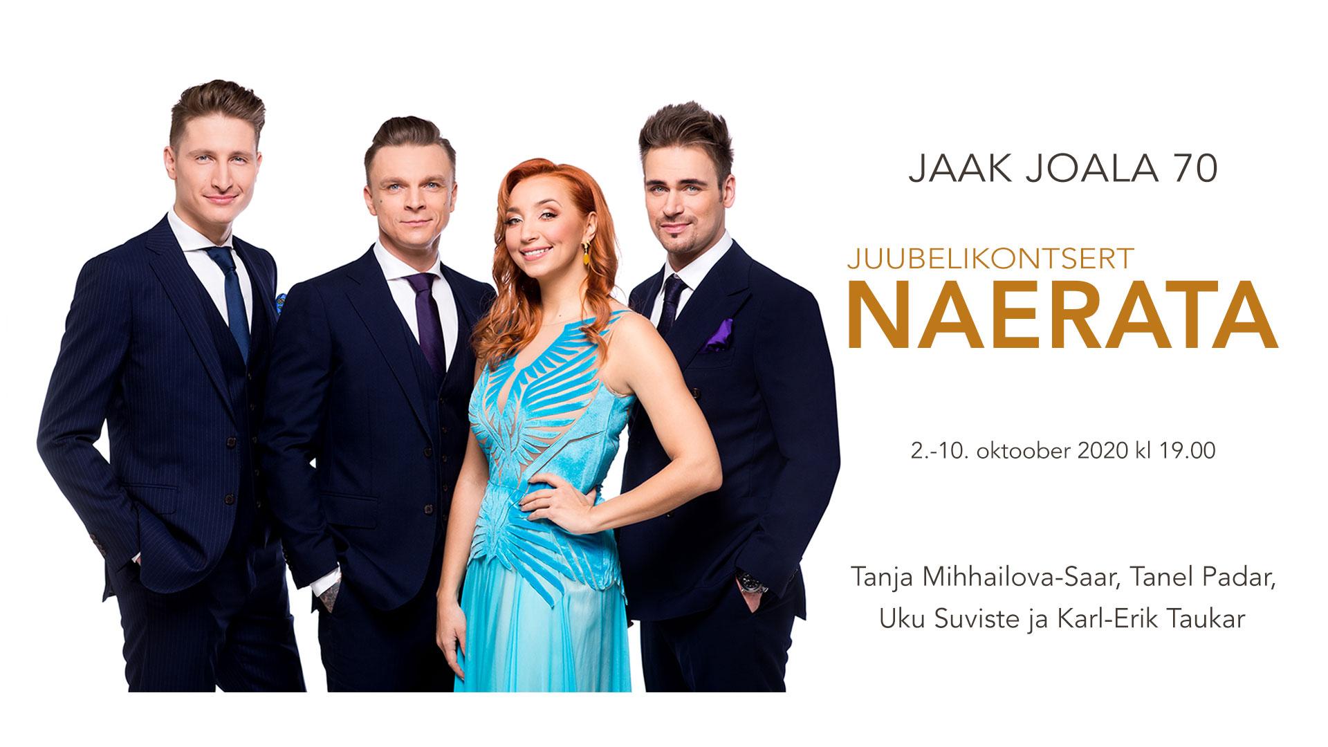 Jaak Joala 70 Juubelikontsert Naerata